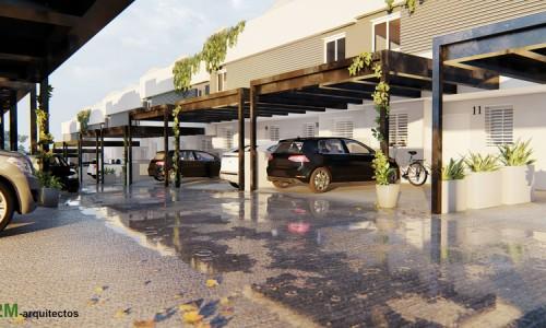 Conjunto integrado de 6 viviendas unifamiliares con piscina en Boadilla del Monte