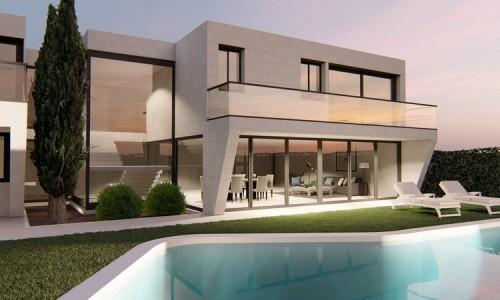 Vivienda unifamiliar de lujo con piscina en San Lorenzo de El Escorial