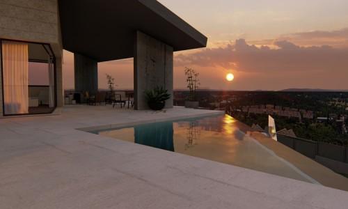 Vivienda unifamiliar vanguardista con piscina en Colmenarejo