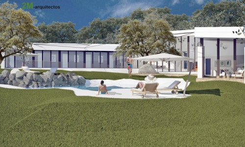 2 viviendas unifamiliares con piscina de diseño, Galapagar