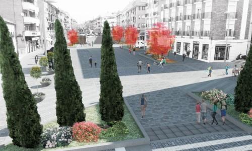 Proyecto Básico y Ejecución de remodelación de la Calle real de Las Rozas de Madrid.