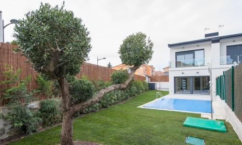 Residencial ZOE51 vivienda unifamiliar pareada y piscina 27