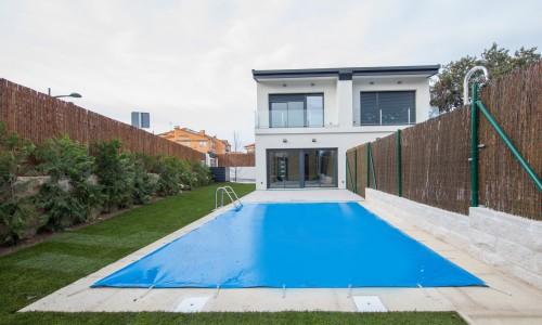 Residencial ZOE51 vivienda unifamiliar pareada y piscina 28