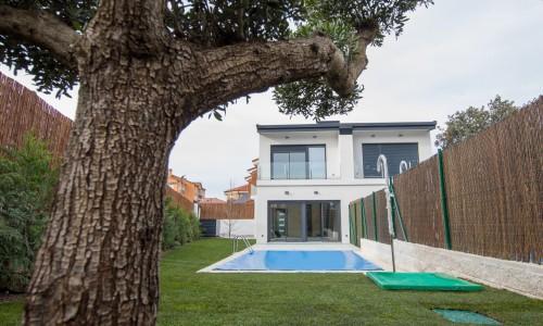 Residencial ZOE51 vivienda unifamiliar pareada y piscina 29
