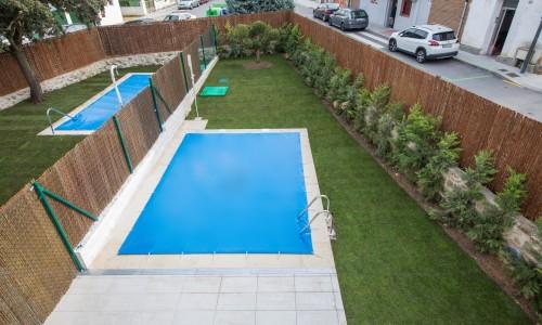 Residencial ZOE51 vivienda unifamiliar pareada y piscina 31