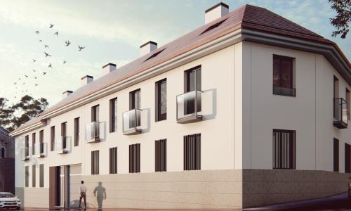 28 viviendas en Vicalvaro 3