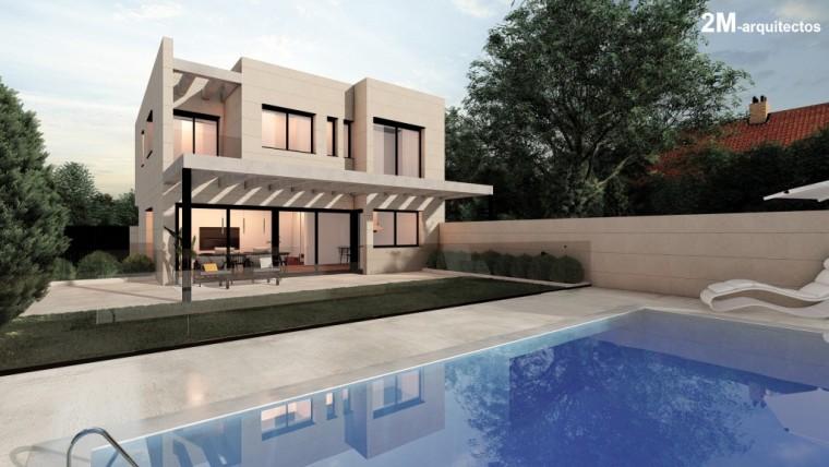 ¿Cómo convertir en una vivienda de lujo un simple solar?