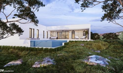 Vivienda unifamiliar con piscina en Ponte Caldelas