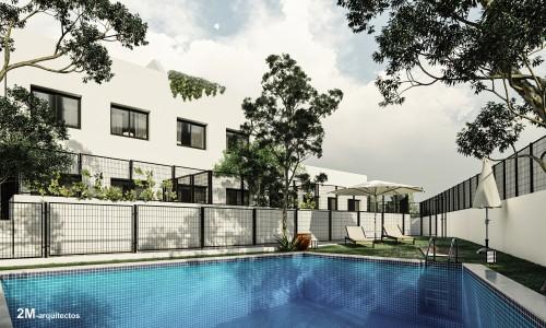27 viviendas de vppl con piscina arroyomolinos