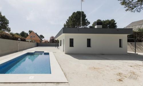 Vivienda unifamiliar aislada con piscina en Villalbilla 6