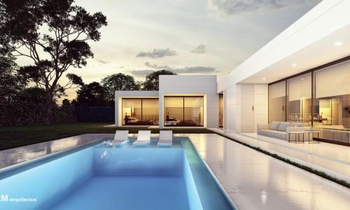 Vivienda unifamiliar aislada de lujo con piscina en las lomas boadilla 2