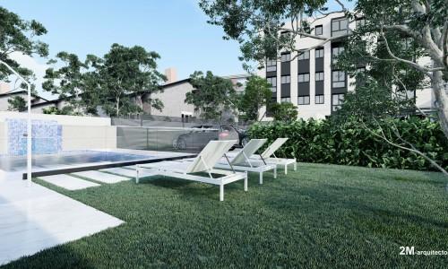 17 viviendas en piqueñas con garaje y piscina en Carabanche 3