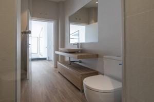 Una de las tendencias en cuartos de baño 2021 emplearmateriales naturales y orgánicos.