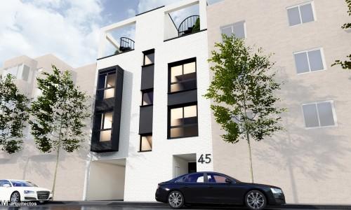 Edificio de 6 viviendas en calle olvido 4