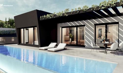 vivienda unifamiliar aislada con piscina en BUEU pontevedra 1